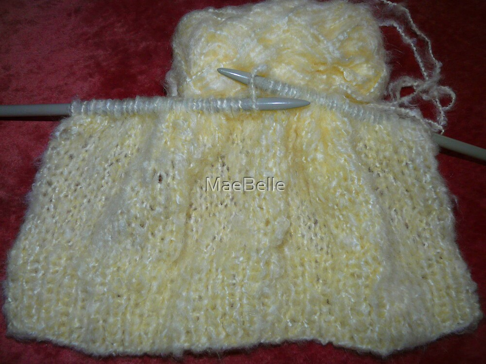 Knitting by MaeBelle