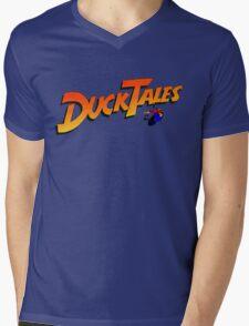DucktaLes Mens V-Neck T-Shirt