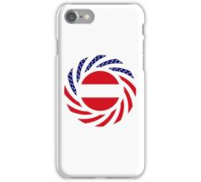 Austrian American Multinational Patriot Flag Series iPhone Case/Skin