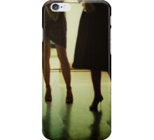 Sensual young lady in wedding in summer in Spain c41 35mm analog photo iPhone Case/Skin