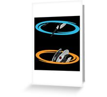 Portal Turret Greeting Card
