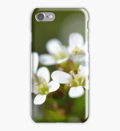 Tiny Macro Flowers iPhone Case/Skin