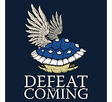 Defeat is Coming Photographic Print