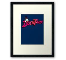 Pixel Ducktales Framed Print