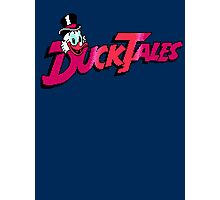 Pixel Ducktales Photographic Print