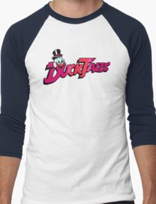 Pixel Ducktales Men's Baseball ¾ T-Shirt