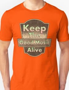 Vintage Keep The Good Music Alive T-Shirt