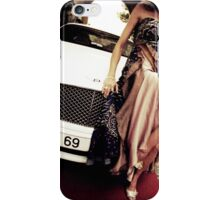 Sensual young lady 69 Sixty Nine Bentley sports car Marbella iPhone Case/Skin