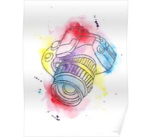 Camera Obscura Illustrative Watercolour Poster