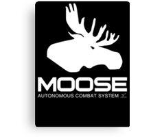 Project Moose prototype - Chappie Canvas Print
