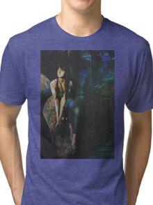 Fantasy Blue Grotto Tri-blend T-Shirt