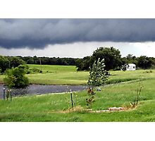 July Storms... Photographic Print