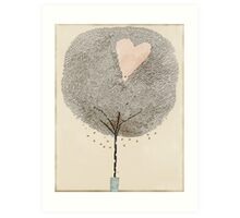 how love grows Art Print