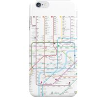 Shanghai metro map  iPhone Case/Skin