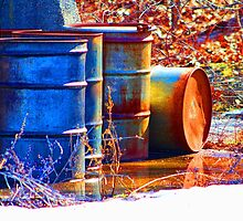 Old Barrels #2 by Gilda Axelrod