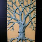 Shipping Foam Tree Inlay by Sam Dantone