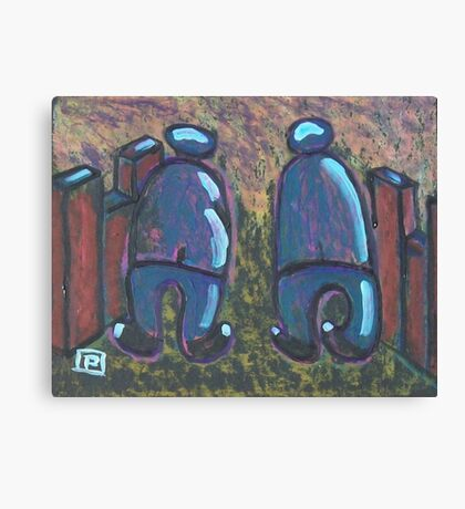 Two Pals Canvas Print