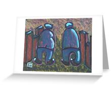 Two Pals Greeting Card
