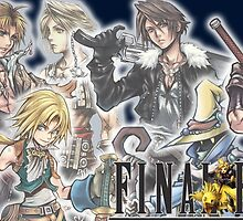 Final Fantasy Group by Giocor86