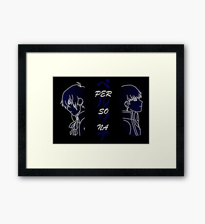 Persona MC 3 & 4 Framed Print