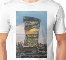 Walkie Talkie Sunset, London Unisex T-Shirt