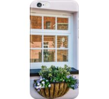 Cottage Window Reflections iPhone Case/Skin