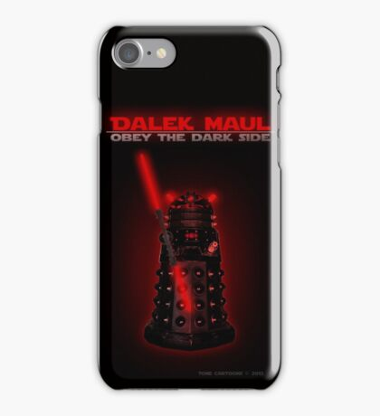 Dalek Maul iPhone Case/Skin