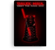 Dalek Maul Canvas Print