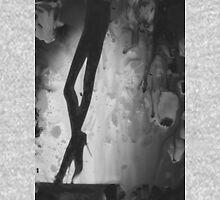 Analog erotic watercolor painted silver gelatin darkroom print mixed media photo T-Shirt