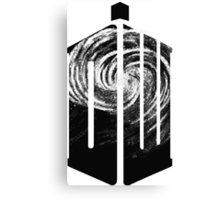 Doctor Who - Swirly Canvas Print