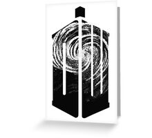 Doctor Who - Swirly Greeting Card