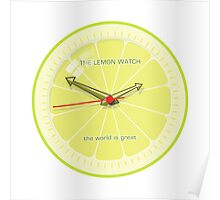 THE LEMON WATCH Great Poster