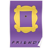 Friends Door frame poster Poster