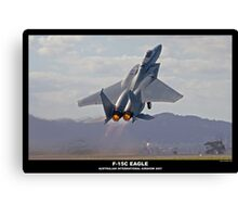 F-15C Eagle Canvas Print