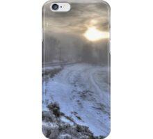 Snow Fog at Dawn iPhone Case/Skin