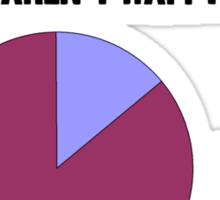Dwarf statistics Sticker