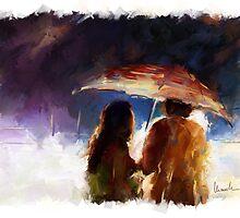 Hard Rain by Chiarella