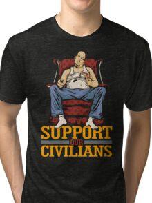 Support Our Civilians Tri-blend T-Shirt