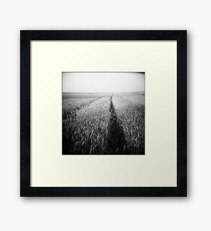 emptiness of timeless Framed Print
