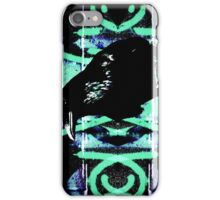 Raven abstract iPhone Case/Skin