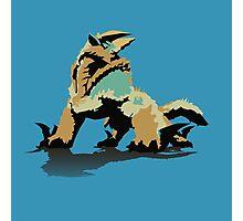 Monster Hunter Jinouga Photographic Print