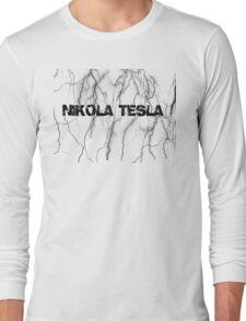 Tesla lightning Long Sleeve T-Shirt