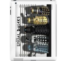 The Usual Daleks iPad Case/Skin