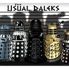 The Usual Daleks by ToneCartoons