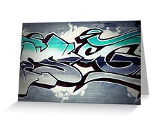 Graffiti 18 Greeting Card