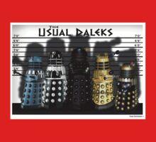 The Usual Daleks One Piece - Short Sleeve