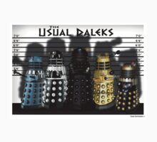 The Usual Daleks Kids Tee