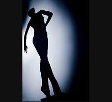 Female ballroom latin salsa dancer surrealist silhouette dance photo Tank Top