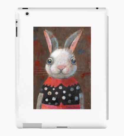 White Rabbit Girl iPad Case/Skin