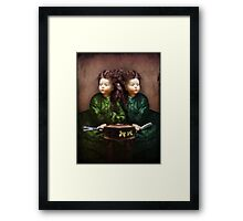 The hair affair Framed Print